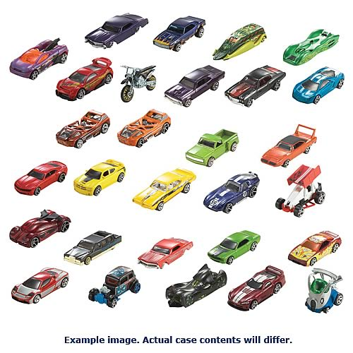 Hot Wheels 2012 Wave 1 Rev. 1 Basic Car Assortment Case
