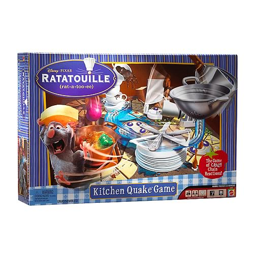 Pixar Ratatouille Remy Kitchen Quake Game