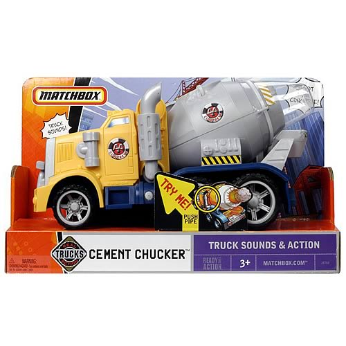Matchbox City Cement Chucker