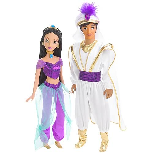 Disney Princess Enchanted Tales Jasmine and Aladdin Gift Set