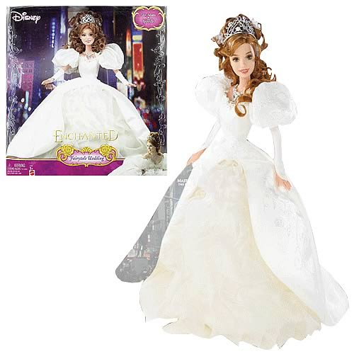 Disney Enchanted Fairytale Wedding Doll