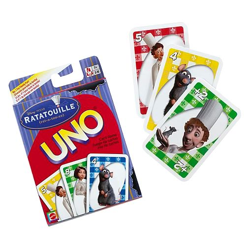 Pixar Ratatouille Uno Card Game
