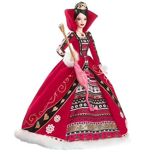 Barbie Alice in Wonderland Queen of Hearts Doll