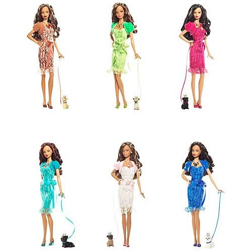 Barbie Birthstone Beauties (African American) Wave 2 Case