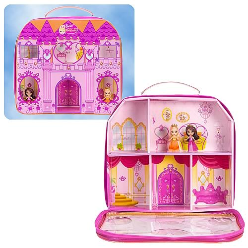 Barbie Peekaboo Purse Petites Pink Playset Case