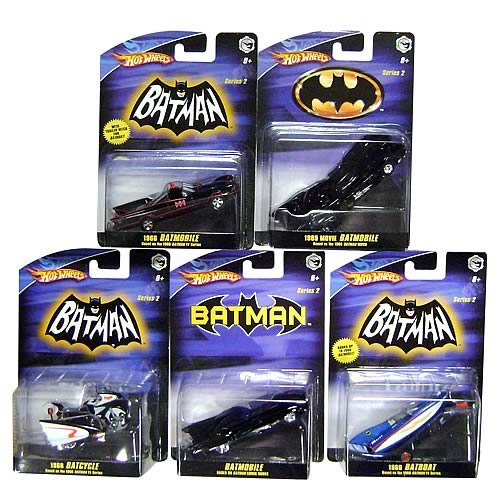 Batman 1:50 Scale Vehicles Wave 3 Rev. 1 Case
