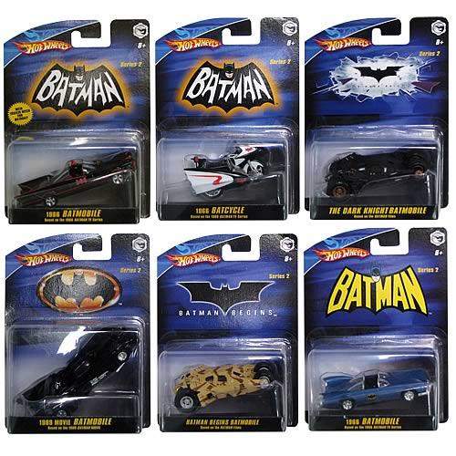 Batman 1:50 Scale Vehicles Wave 3 Rev. 2 Case
