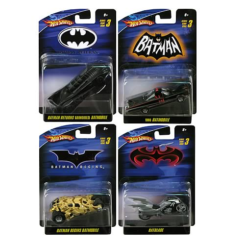 Batman 1:50 Scale Vehicles Wave 7 Revision 1 Set