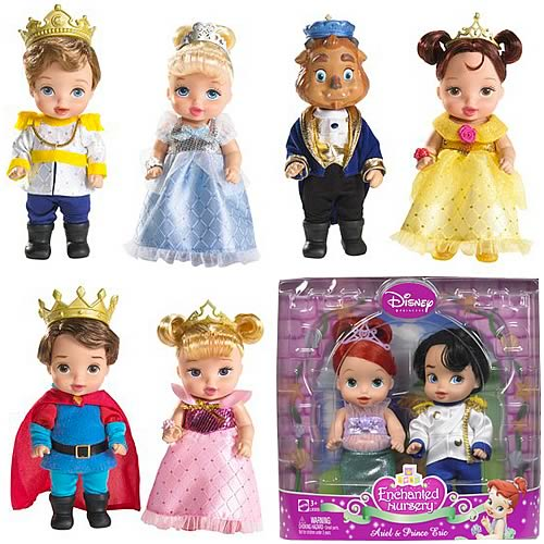 Disney Princess Enchanted Nursery Dolls Wave 2 Case