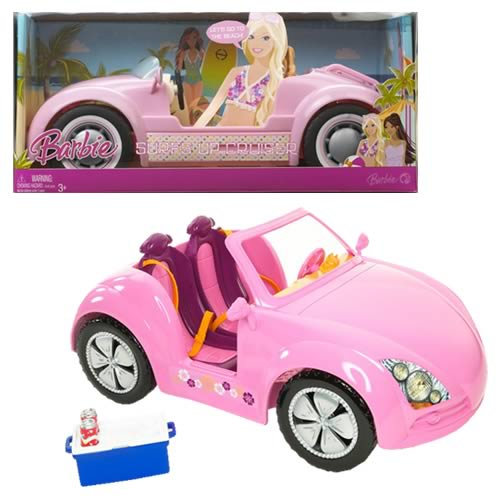Barbie Beach Glam Cruiser Car