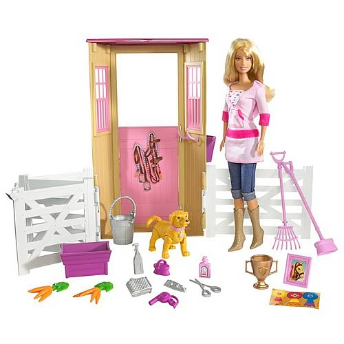Barbie Dream Stable Playset Mattel Barbie Playsets
