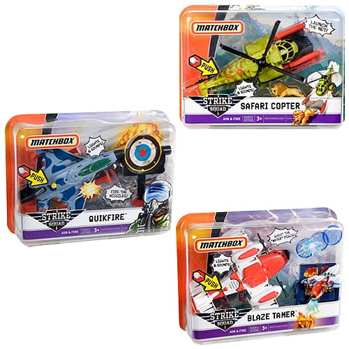 Matchbox Sky Busters Strike Squad Wave 1 Case