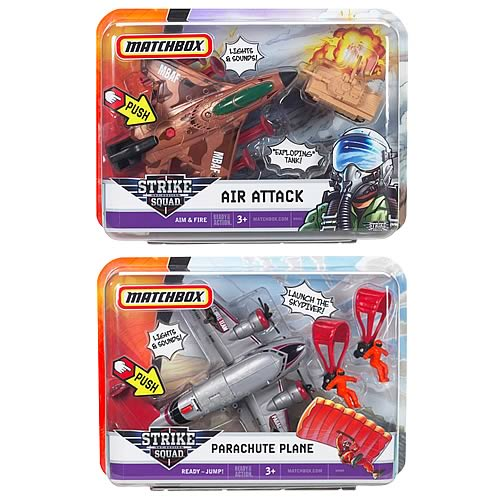 Matchbox Sky Busters Strike Squad Wave 2 Case