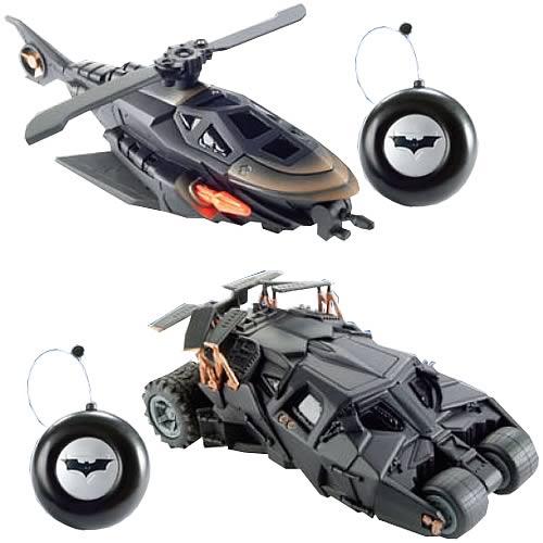 Batman Little Rides RC Vehicles Wave 1 Rev. 2 Set