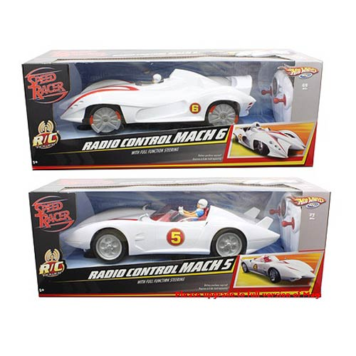 Speed Racer Hot Wheels 1:16 Scale R/C Vehicle Case