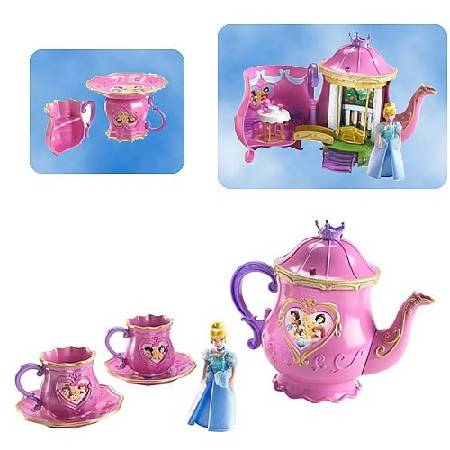 Disney Princess Royal Tea Part Pop-Up Playset