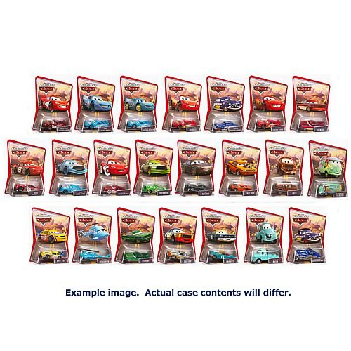 Pixar Cars Character Cars Wave 1 Revision 1 Case