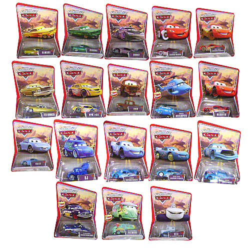 Pixar Cars Character Cars Wave 1 Revision 2 Case