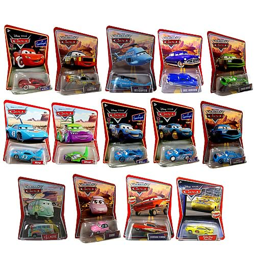 Pixar Cars Character Cars Wave 2 Revision 3 Case