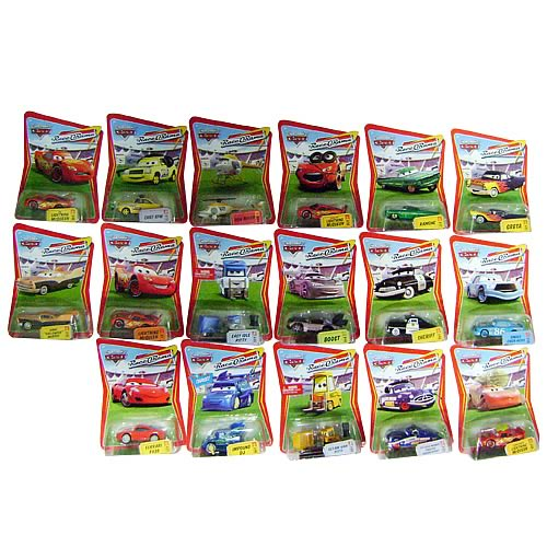 Pixar Cars Character Cars Wave 2 Case