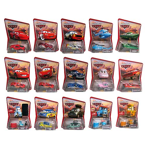 Pixar Cars Character Cars Wave 3 Revision 1 Case