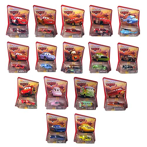Pixar Cars Character Cars Wave 3 Case