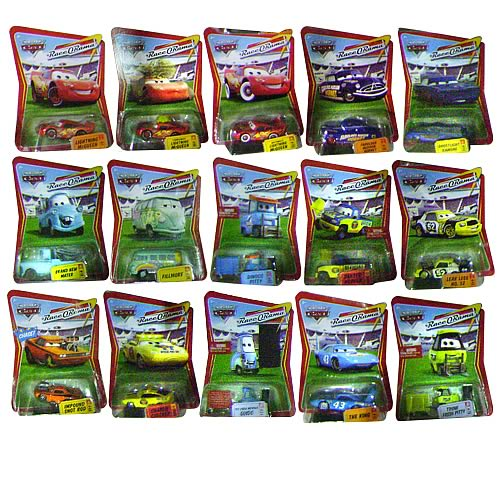 Pixar Cars Character Cars Wave 7 Revision 2