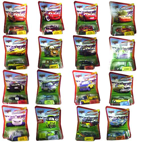 Pixar Cars Character Cars Wave 7 Revision 3