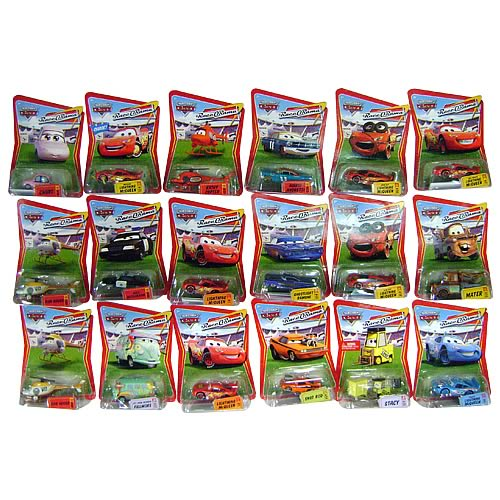 Pixar Cars Character Cars Wave 7 Case