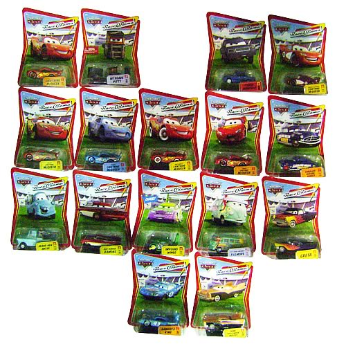 Pixar Cars Character Cars Wave 8 Case