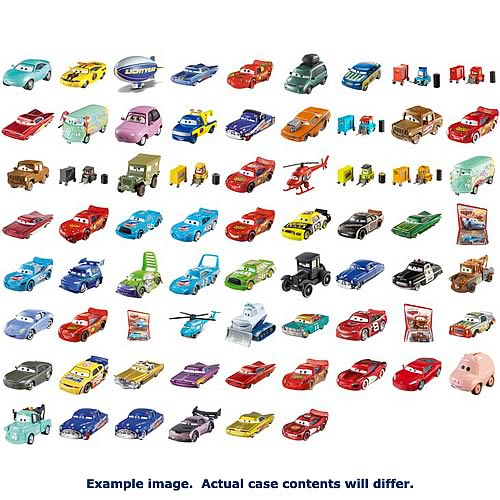 Pixar Cars Character Cars Wave 9 Case
