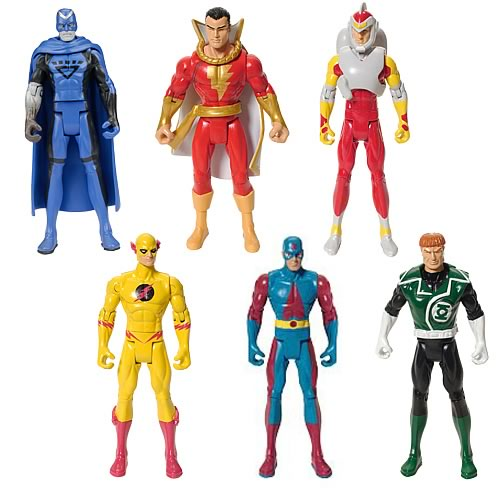 DC Universe Infinite Heroes Wave 1 Rev. 1 Action Figures Set