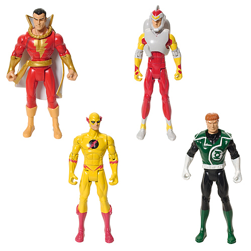 DC Universe Infinite Heroes Wave 1 Action Figures Set