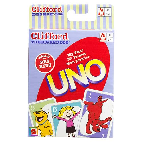 Clifford The Big Red Dog My First UNO King-Size Card Game