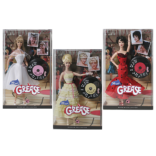 Grease Barbie Doll Set