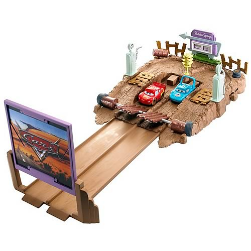 Pixar Cars Drive-In Drag Strip Playset