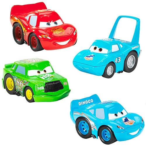 Cars Crash Talking Vehicles Wave 1 Set