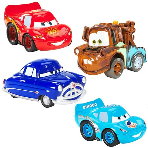 Cars Crash Talking Vehicles Wave 2 Set