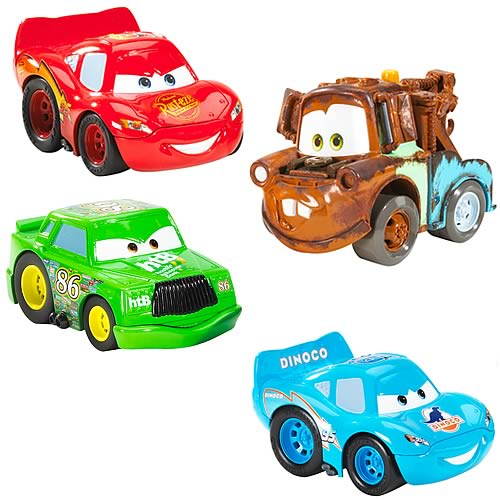 Cars Crash Talking Vehicles Wave 3 Set