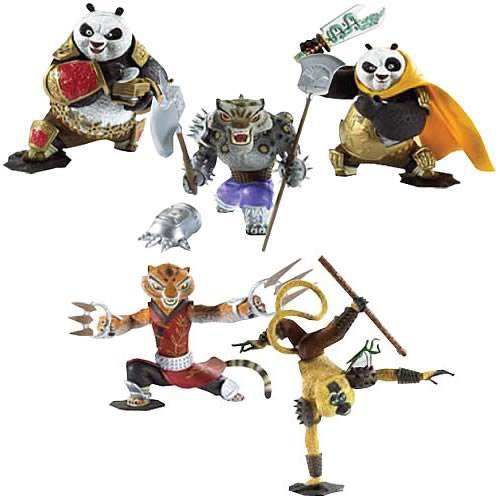 Kung Fu Figuren : kung fu panda action figure wave 3 case mattel kung fu panda action figures at ~ Sanjose-hotels-ca.com Haus und Dekorationen