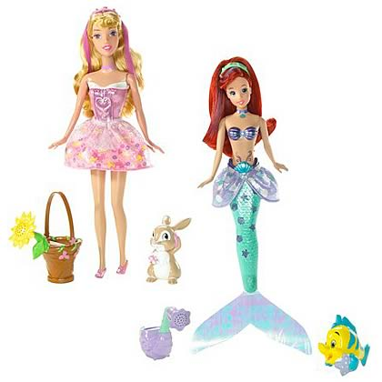 Disney Princess Bath Beauty Dolls Wave 1 Revision 2 Case