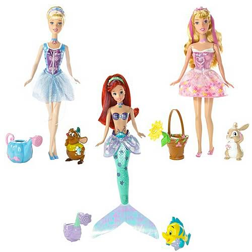 Disney Princess Bath Beauty Dolls Wave 1 Case