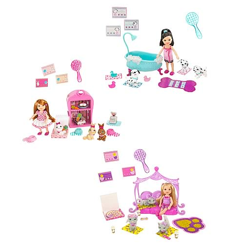 Barbie Luv Me 3 Kelly Doll and Pet Playset Case