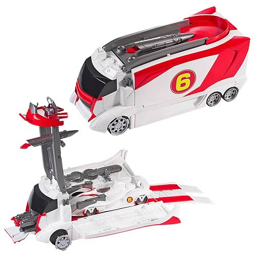 Speed Racer Hot Wheels Mach 6 And Battle Rig Mattel