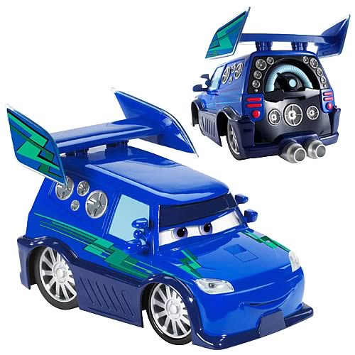 Pixar Cars DJ Vehicle