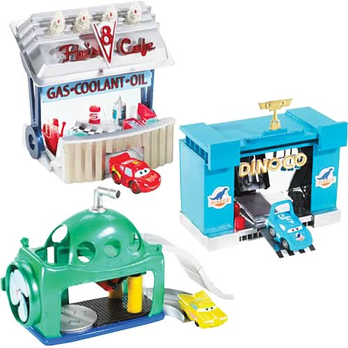 Cars Mini Adventures Playsets Wave 1 Set