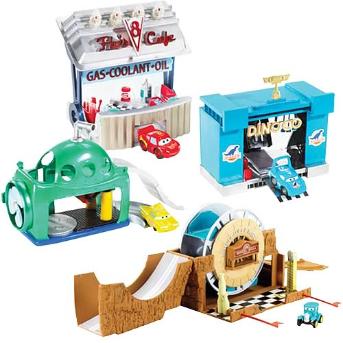 Cars Mini Adventures Playsets Wave 4 Case