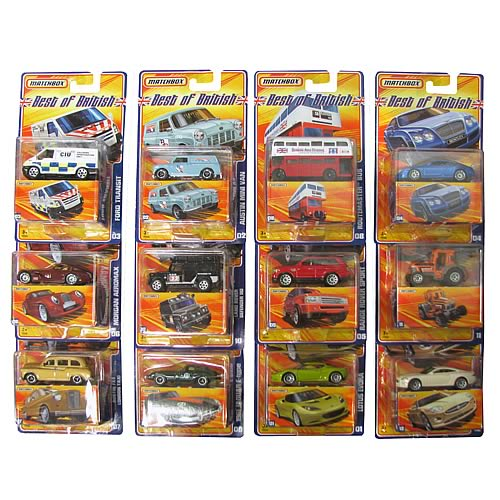 Matchbox Best of Vehicles Case