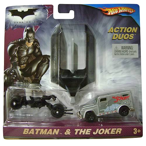 Batman: The Dark Knight Hot Wheels Joker Action Pack