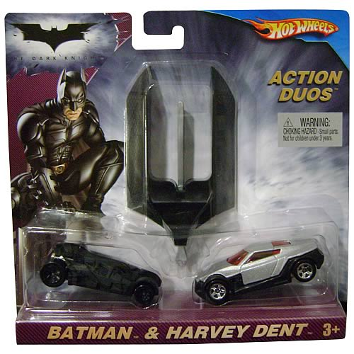 Batman: The Dark Knight Hot Wheels Two-Face Action Pack